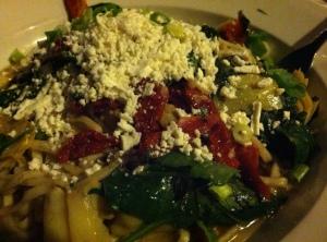 Healthy-ish Restaurant Dinner